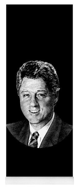 President Bill Clinton Graphic Yoga Mat