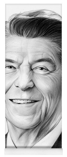President Ronald Reagan Yoga Mat