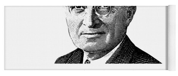 President Truman And Funny Quote On Washington Yoga Mat