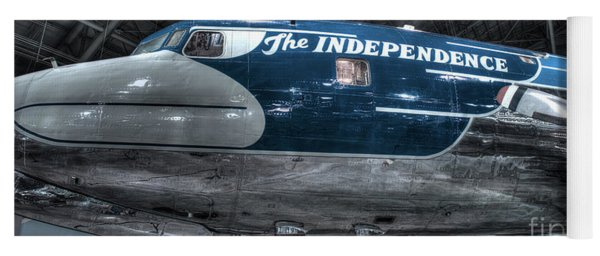 Presidential Aircraft - The Independence, Douglas Vc-118  Yoga Mat