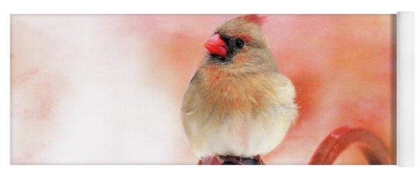 Pretty Cardinal Yoga Mat