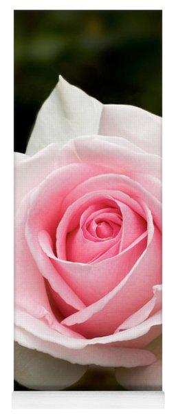 Pretty In Pink Rose Yoga Mat