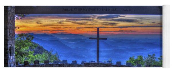 Pretty Place Chapel Sunrise 777  Yoga Mat