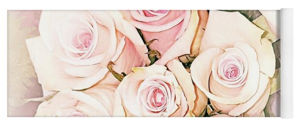 Pretty Roses Yoga Mat