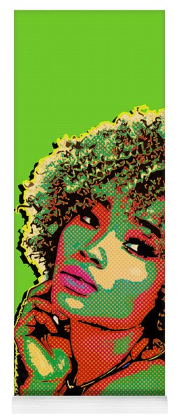 Pretty Woman II Pop Art Yoga Mat
