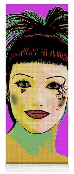 Pretty Woman Pop Art Yoga Mat
