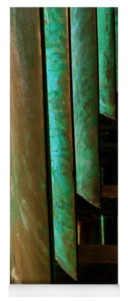 Price Tower Copper Detail 2 Yoga Mat