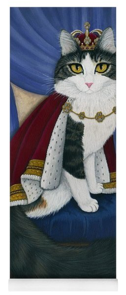 Prince Anakin The Two Legged Cat - Regal Royal Cat Yoga Mat