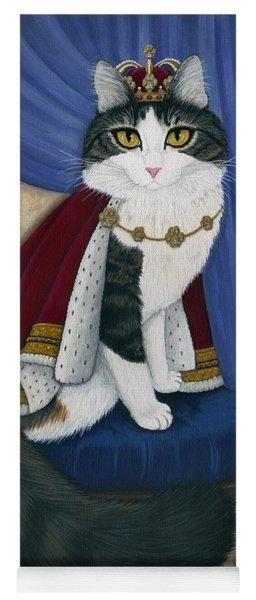 Prince Anakin The Two Legged Cat - Regal Royal Cat Yoga Mat