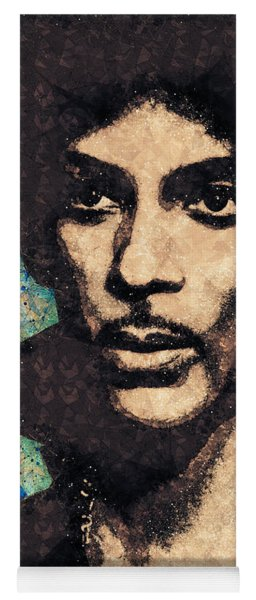 Prince Illustration Yoga Mat