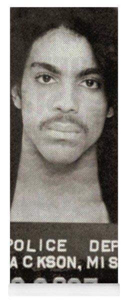 Prince Mug Shot Vertical Yoga Mat