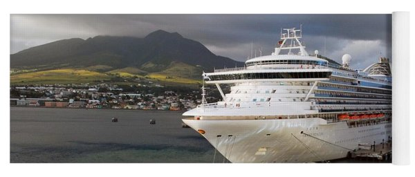 Princess Emerald Docked At Barbados Yoga Mat