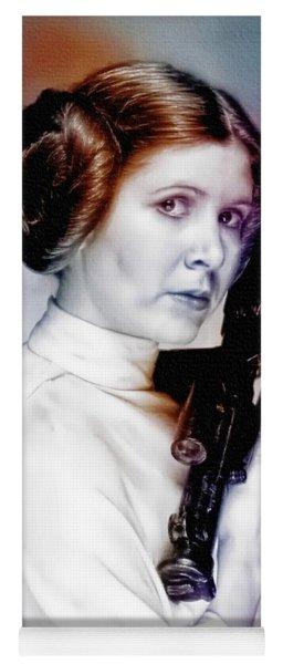 Princess Leia - Carrie Fisher Yoga Mat