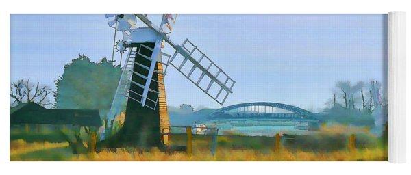 Priory Windmill Yoga Mat