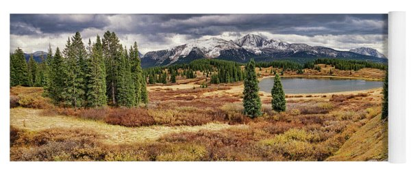 Pristine Mountain Lake Yoga Mat
