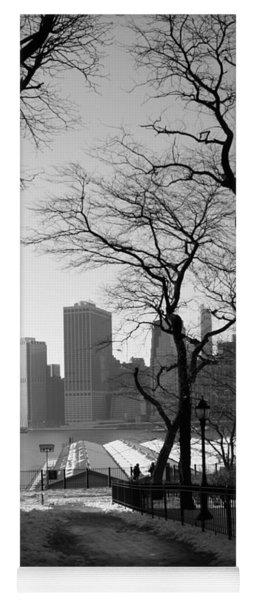 Promenade Trees Yoga Mat