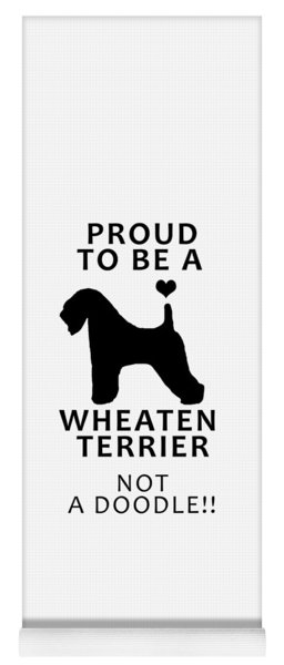 Proud To Be A Wheaten Yoga Mat