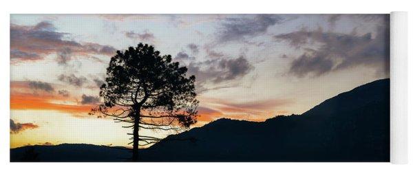 Provence, France Sunset Yoga Mat