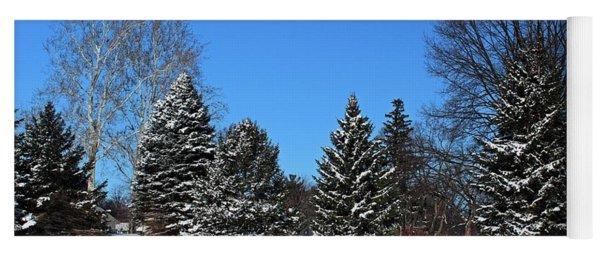 Provincial Pines Yoga Mat