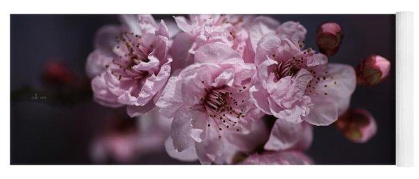Prunus A Pink Spring Yoga Mat