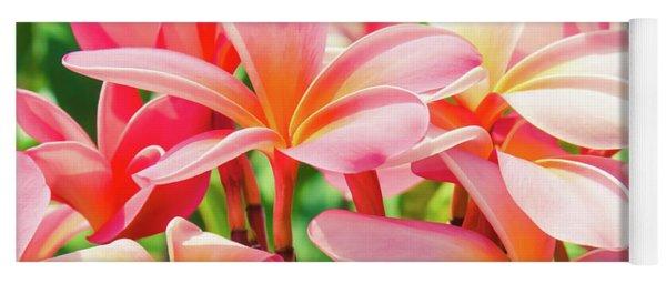 Pua Melia Ke Aloha Maui Yoga Mat