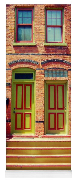 Pullman National Monument Row House Yoga Mat