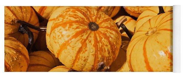Pumpkin Harvest Yoga Mat