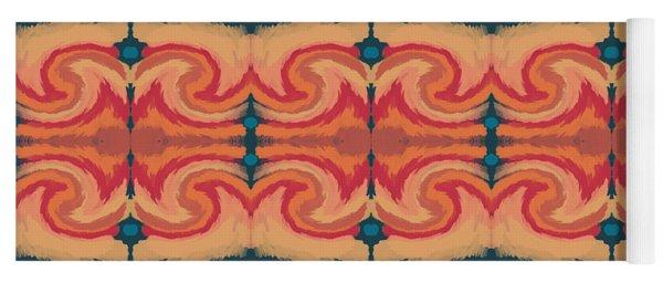 Pumpkin Spice 2- Art By Linda Woods Yoga Mat