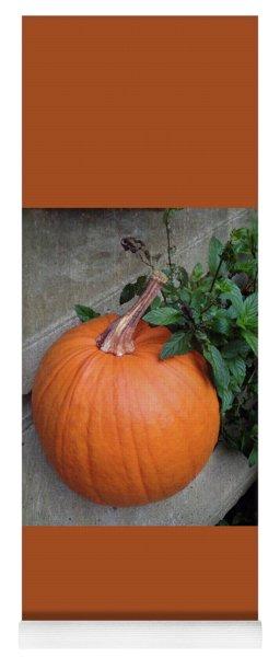 Pumpkin Yoga Mat