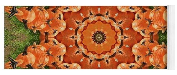 Pumpkins Galore Yoga Mat