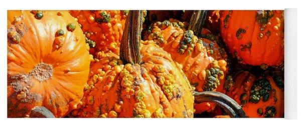Pumpkins With Warts Yoga Mat