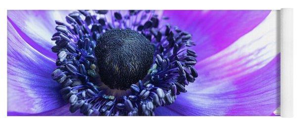 Purple Anemone Yoga Mat
