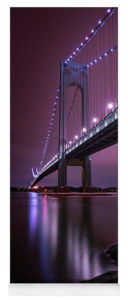 Purple Bridge Yoga Mat