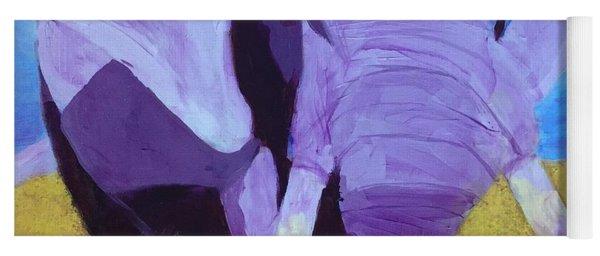 Purple Elephant Yoga Mat