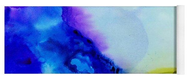 Purple Flow Yoga Mat