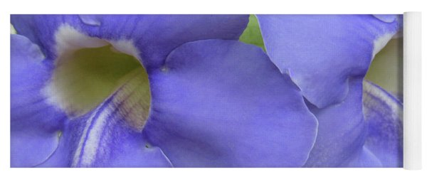 Purple Flower Picture Perfect Yoga Mat