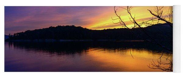 Purple Lake Yoga Mat