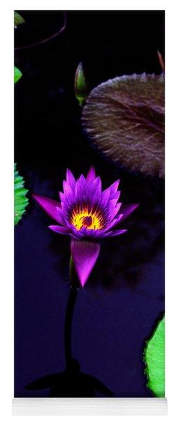 Purple Lily Yoga Mat