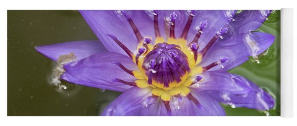 Purple Lily Yoga Mat