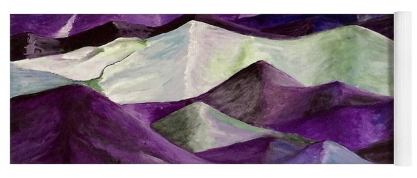 Purple Mountains Majesty Yoga Mat