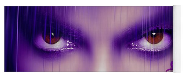 Purple Rain Purple Rain Yoga Mat