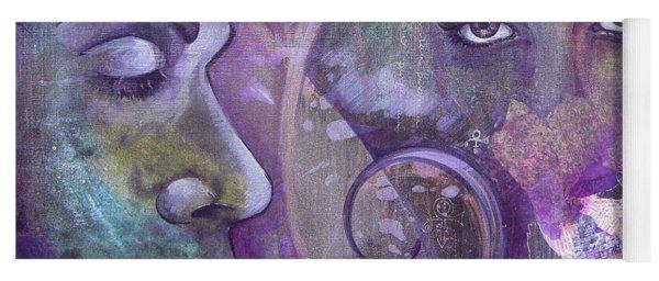 Purple Rain Yoga Mat