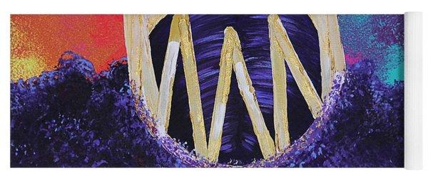Purple Reign  Yoga Mat