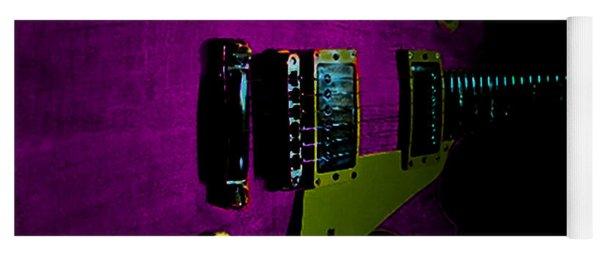 Purple Relic Les Paul II Hover Series Yoga Mat