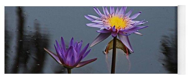 Purple Two-step Yoga Mat