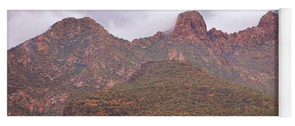Pusch Ridge Tucson Arizona Yoga Mat