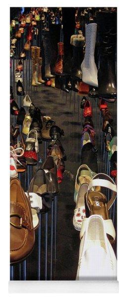 Put Your Shoes ... Yoga Mat