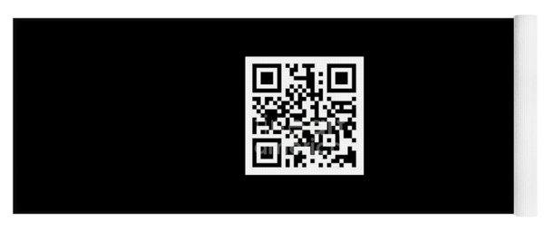 Qr Code Kip-devore.pixels.com Yoga Mat