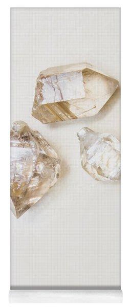 Quartz Crystals Yoga Mat