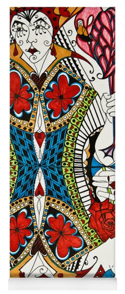 Queen Of Hearts Yoga Mat